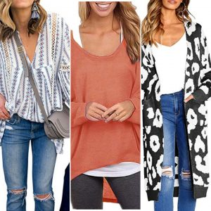collage of fall fashion outfits from amazon for post fall 2020: top 25 favorite amazon fashion finds