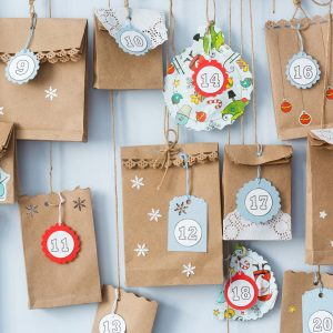 Paper bag Advent calendar for post Practical Advent Ideas for Your Busy Family This Christmas (Fun for Kids and Easy for Parents)